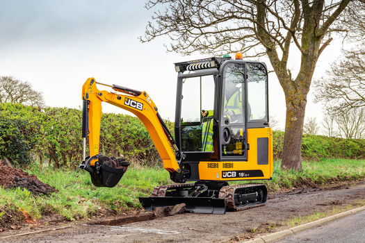 JCB 19C-1 mini excavator and specifications